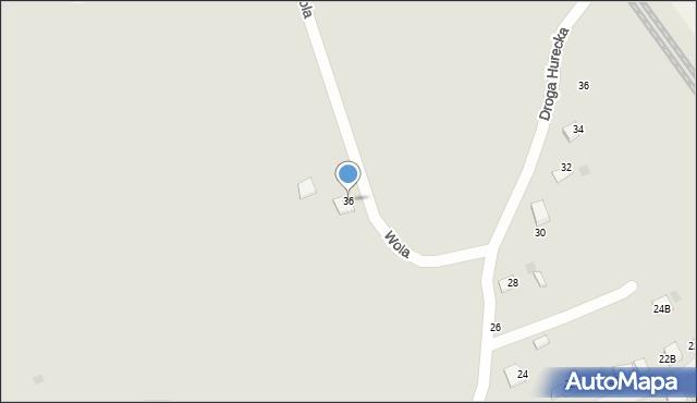 Przemyśl, Wola, 36, mapa Przemyśla