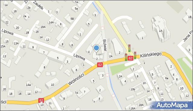 Sokołów Podlaski, Wolności, 4, mapa Sokołów Podlaski