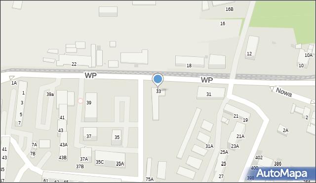 Świętochłowice, Wojska Polskiego, 33, mapa Świętochłowice