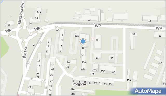 Świętochłowice, Wojska Polskiego, 41, mapa Świętochłowice