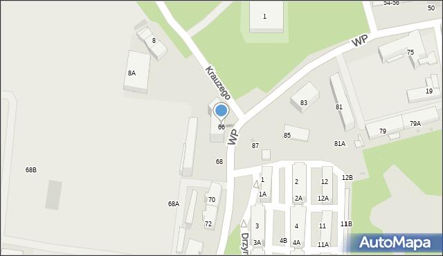 Świętochłowice, Wojska Polskiego, 66, mapa Świętochłowice