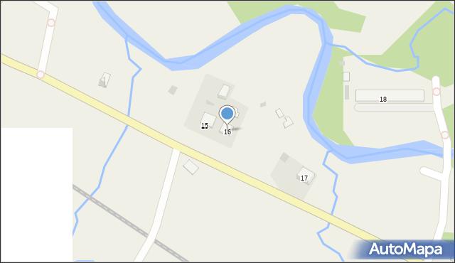 Wola Michowa, Wola Michowa, 16, mapa Wola Michowa