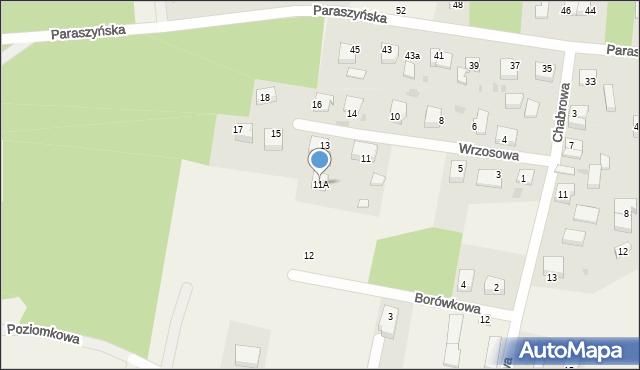 Luzino, Wrzosowa, 11A, mapa Luzino