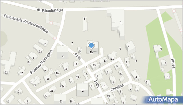 Gdynia, Wyspiańskiego Stanisława, 10, mapa Gdyni