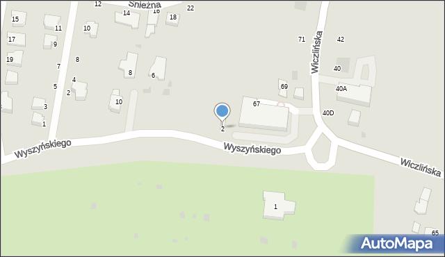 Gdynia, Wyszyńskiego Stefana, ks. kard., 2, mapa Gdyni