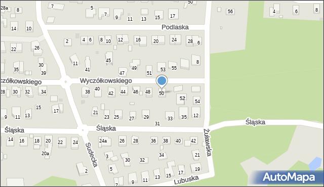 Grudziądz, Wyczółkowskiego Leona, 50, mapa Grudziądza