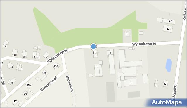 Mogilno, Wybudowanie, 5, mapa Mogilno