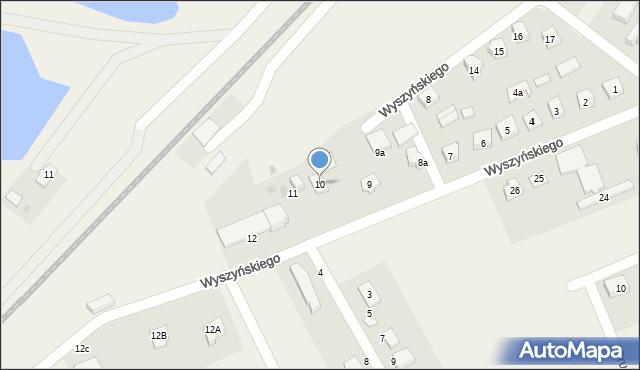 Nowa Wieś Ełcka, Wyszyńskiego Stefana, ks. kard., 10, mapa Nowa Wieś Ełcka
