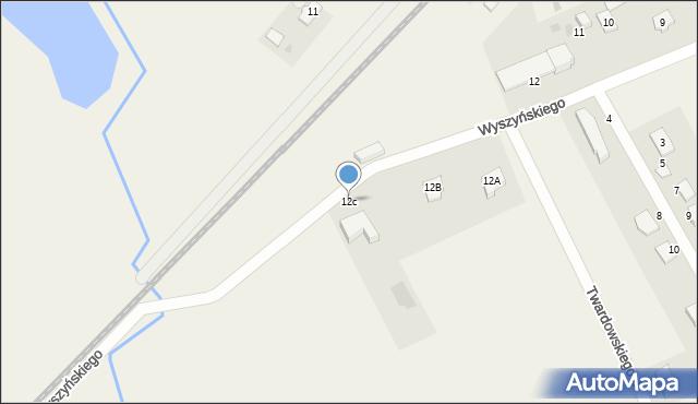Nowa Wieś Ełcka, Wyszyńskiego Stefana, ks. kard., 12c, mapa Nowa Wieś Ełcka