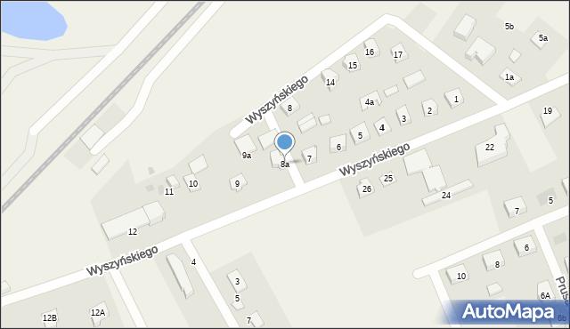 Nowa Wieś Ełcka, Wyszyńskiego Stefana, ks. kard., 8a, mapa Nowa Wieś Ełcka