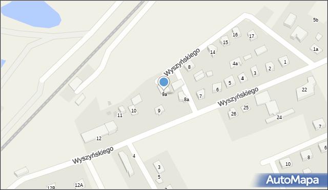 Nowa Wieś Ełcka, Wyszyńskiego Stefana, ks. kard., 9a, mapa Nowa Wieś Ełcka
