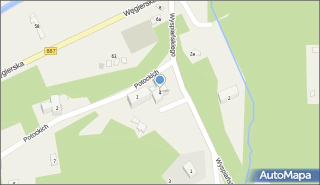 Rymanów-Zdrój, Wyspiańskiego Stanisława, 4, mapa Rymanów-Zdrój