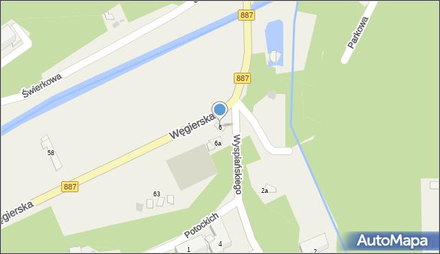 Rymanów-Zdrój, Wyspiańskiego Stanisława, 6, mapa Rymanów-Zdrój