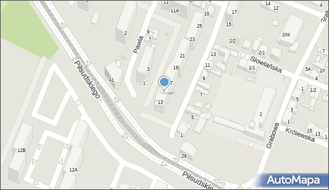 Sosnowiec, Wysoka, 15, mapa Sosnowca