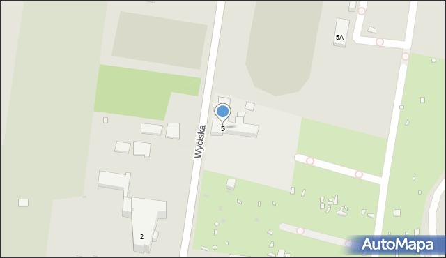 Zabrze, Wyciska Jerzego, 5, mapa Zabrza