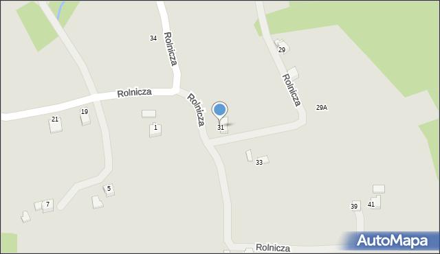 Limanowa, Zarębki, 31, mapa Limanowa