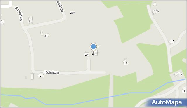 Limanowa, Zarębki, 41, mapa Limanowa