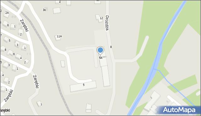 Limanowa, Zarębki, 5A, mapa Limanowa