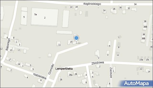 Przemyśl, Zamoyskiego Jana, hetm., 15, mapa Przemyśla