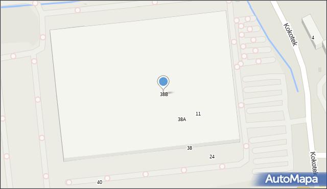Ruda Śląska, Zabrzańska, 38B, mapa Rudy Śląskiej