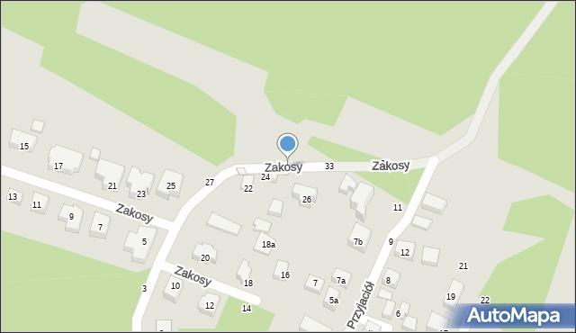 Toruń, Zakosy, 31, mapa Torunia