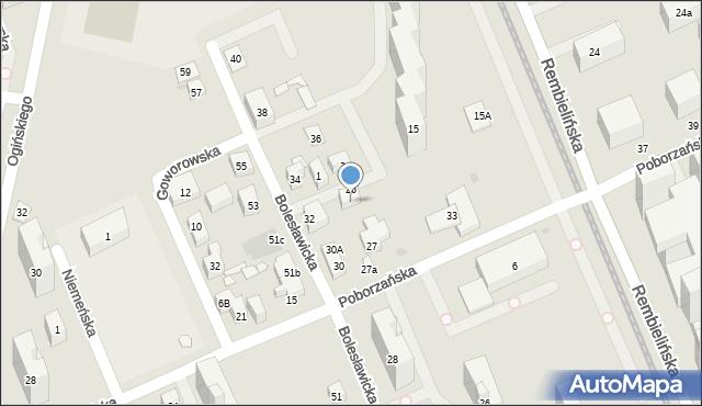Warszawa, Zagraniczna, 4, mapa Warszawy