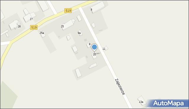 Zajezierze, Zajezierze, 10, mapa Zajezierze