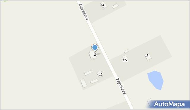 Zajezierze, Zajezierze, 15, mapa Zajezierze