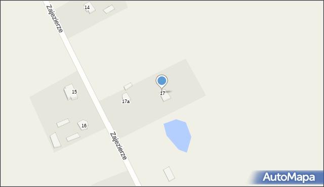 Zajezierze, Zajezierze, 17, mapa Zajezierze