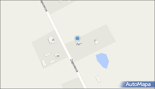 Zajezierze, Zajezierze, 17a, mapa Zajezierze