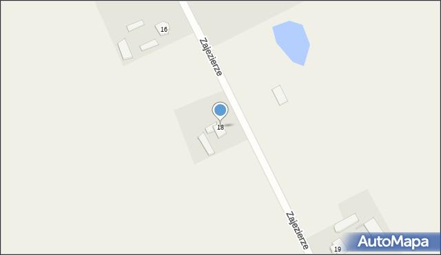 Zajezierze, Zajezierze, 18, mapa Zajezierze