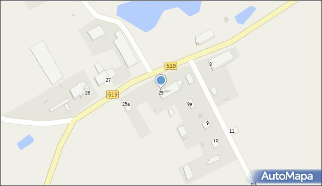 Zajezierze, Zajezierze, 25, mapa Zajezierze