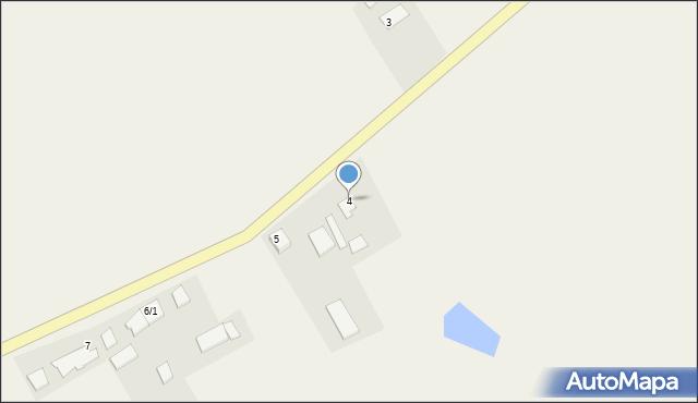 Zajezierze, Zajezierze, 4, mapa Zajezierze