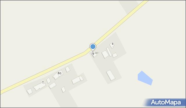 Zajezierze, Zajezierze, 5, mapa Zajezierze