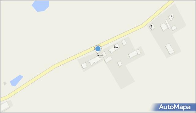 Zajezierze, Zajezierze, 7, mapa Zajezierze