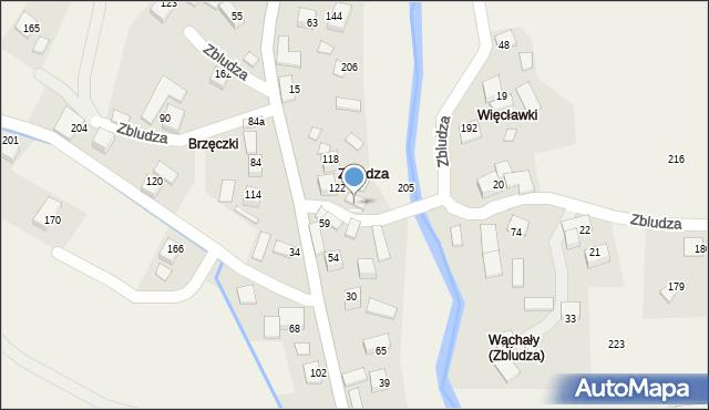 Zbludza, Zbludza, 41, mapa Zbludza