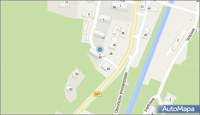 Rymanów-Zdrój, Zdrojowa, 44, mapa Rymanów-Zdrój
