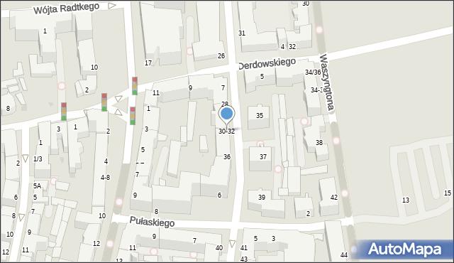 Gdynia, Żeromskiego Stefana, 32, mapa Gdyni