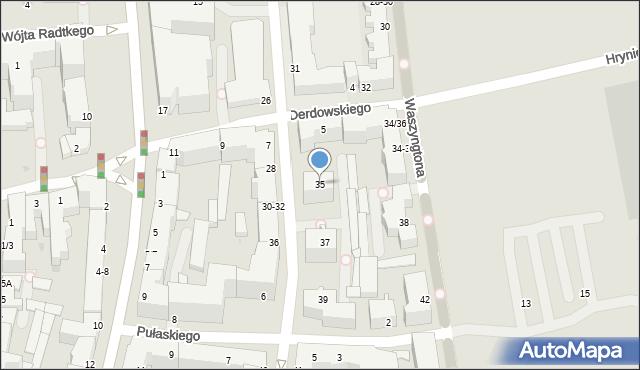 Gdynia, Żeromskiego Stefana, 35, mapa Gdyni