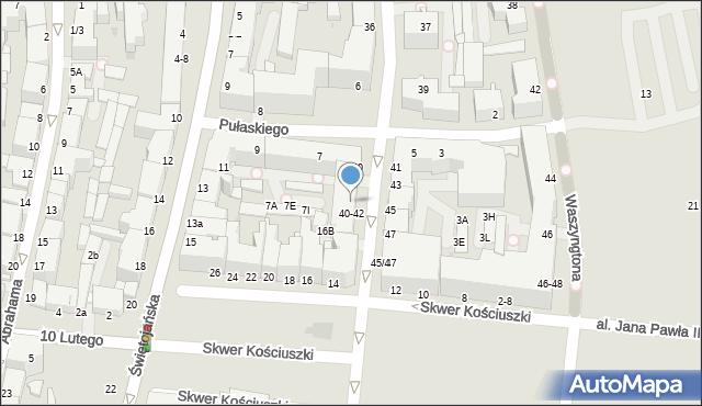 Gdynia, Żeromskiego Stefana, 40/42, mapa Gdyni