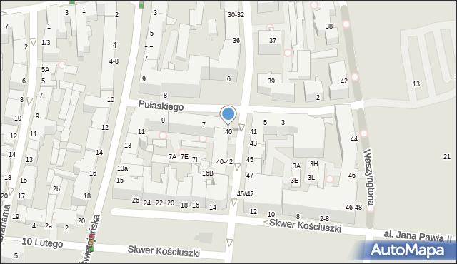Gdynia, Żeromskiego Stefana, 40, mapa Gdyni