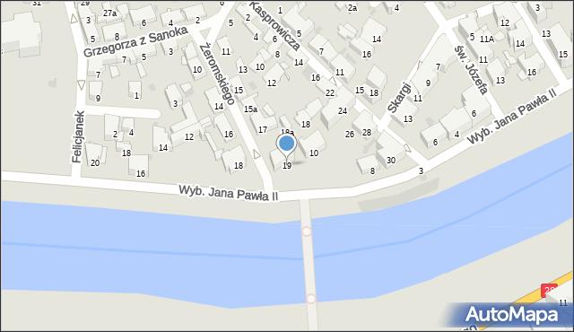 Przemyśl, Żeromskiego Stefana, 19, mapa Przemyśla