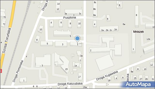 Grudziądz, Ziemi Chełmińskiej, 1, mapa Grudziądza