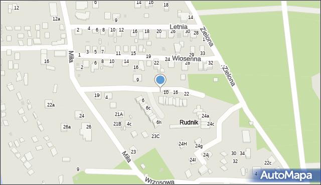 Grudziądz, Zimowa, 8, mapa Grudziądza