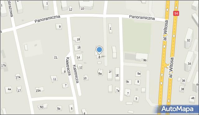 Rzeszów, Złota, 6, mapa Rzeszów