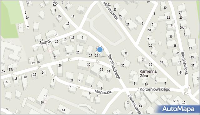 Gdynia, Żołnierzy 1 Armii Wojska Polskiego, 29A, mapa Gdyni