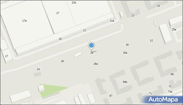 Warszawa, Żupnicza, 28, mapa Warszawy