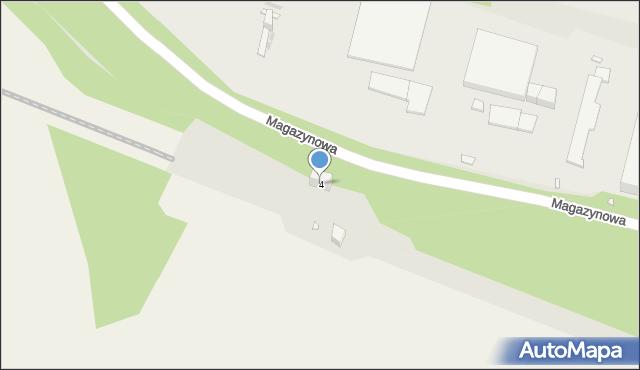 Zabrze, Zwrotnicza, 4, mapa Zabrza