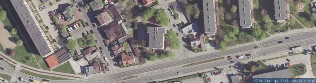 Zdjęcie satelitarne 1905 Roku ul.