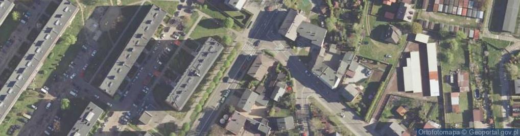 Zdjęcie satelitarne 1 Maja ul.